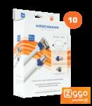 Hirschmann 4114 aansluitset voor cai versterkers