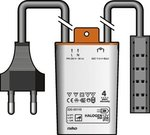 Niko elektronische trafo tronic 35-105W met eurostekker en Q-verdeelblok 320-00115