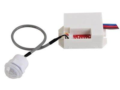 Mini Pir-bewegingsmelder inbouw 230V