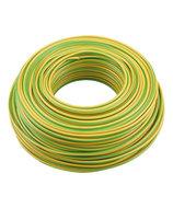 Vd-draad geel/groen 2,5mm huismerk