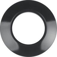 Berker 138101 afdekraam 1-voudig zwart glans 1930