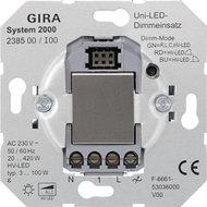 Gira 238500 led tastdimmer 3-100W universeel