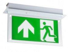 Led noodverlichting inbouw met plexiglas plaat