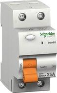 Schneider Electric aardlekschakelaar 2P 40A/30mA 16695 Domae ID
