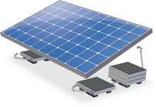 Zonnepaneel uitbreidingsset enkel 280/300WP platdak