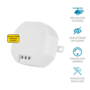 KlikAanKlikUit ACM-100 inbouw multi dimmer led/halogeen/spaarlamp