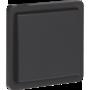 Niko New Hydro schakelaar 2-polig zwart 761-31200