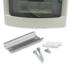 Viko Panasonic ledige verdeler 4 modulen met deurtje